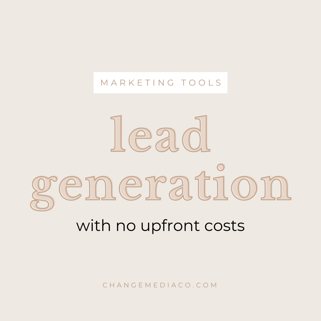 </p> <p><center>Lead Generation for Free